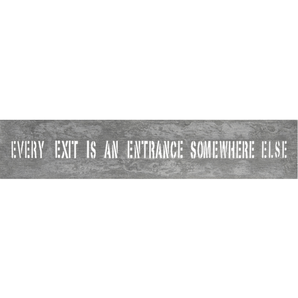 Every Exit - Metal Sign - Sugarboo and Co