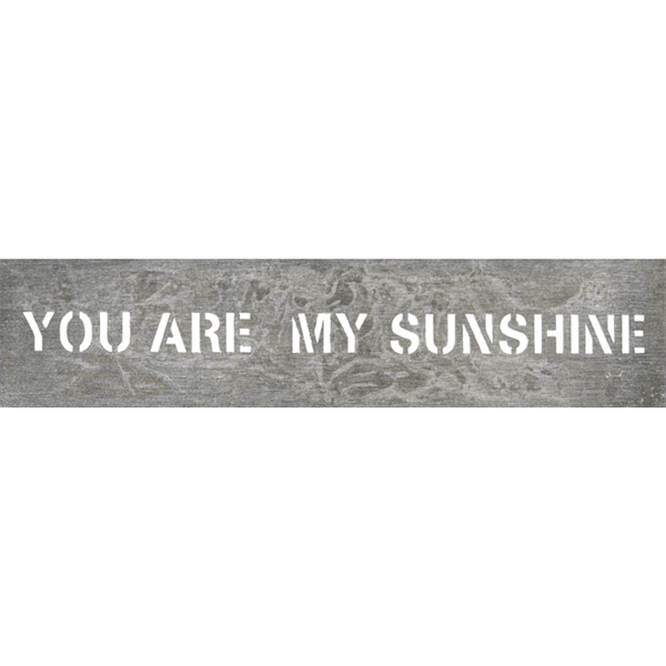 Metal Sign - You Are my Sunshine - Sugarboo and Co