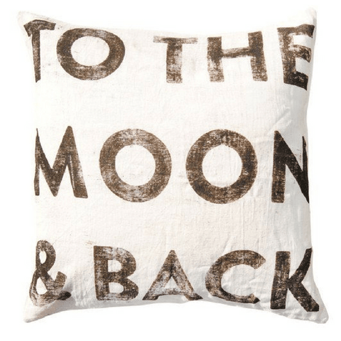 To The Moon and Back - Sugarboo and Co Pillow