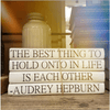 Audrey Hepburn Book Stack - Quotation Stack - Sugarboo and Co