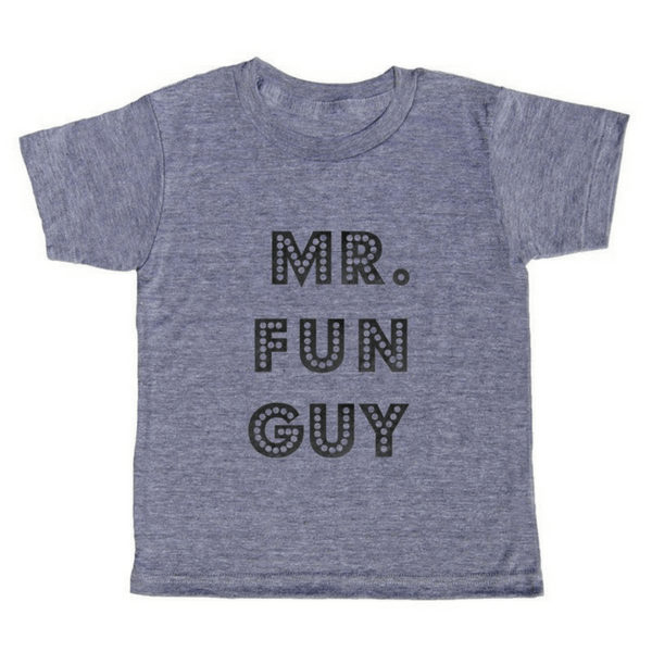 Mr. Fun Guy T-Shirt - Sugarboo and Co