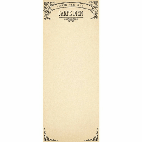 Carpe Diem Skinny Notepad - Sugarboo and Co