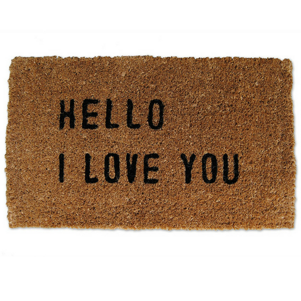 DM104 - hello i love you door mat