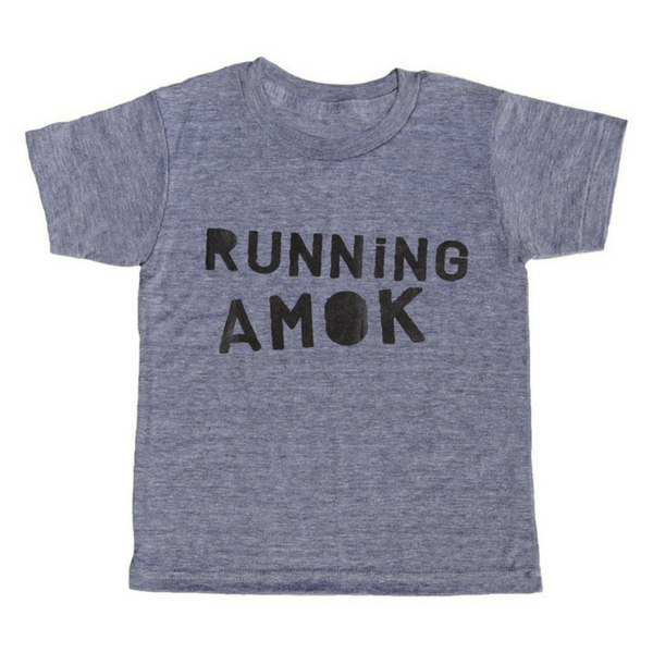 Running Amok T-Shirt - Sugarboo and Co