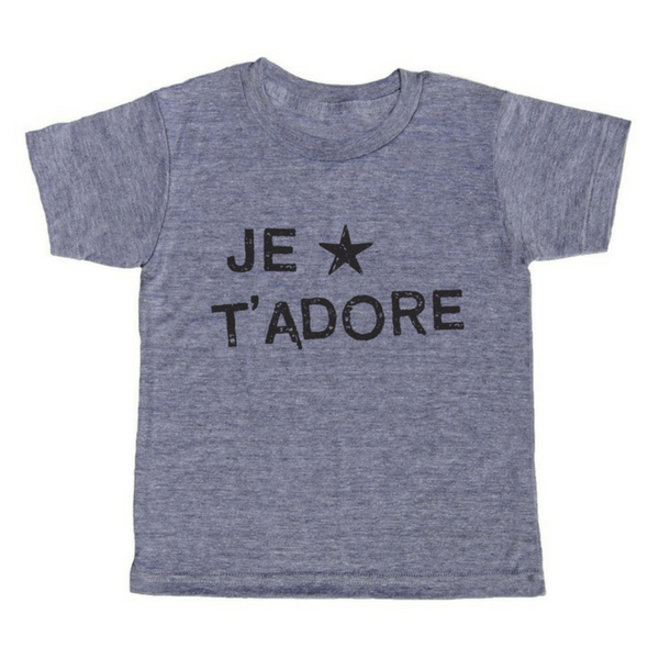 Je T'Adore T-Shirt - Sugarboo and Co