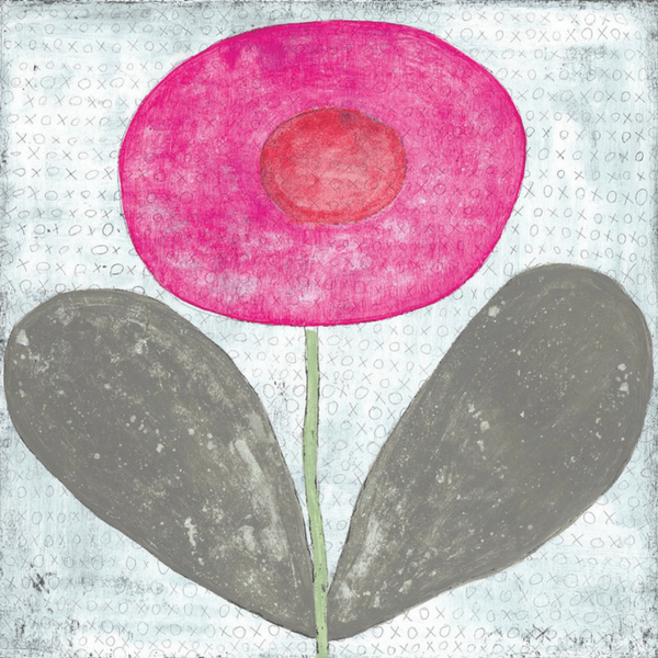 Happy Flower Art Print - Sugarboo and Co