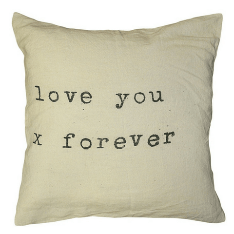Love You x Forever - Sugarboo and Co Pillow