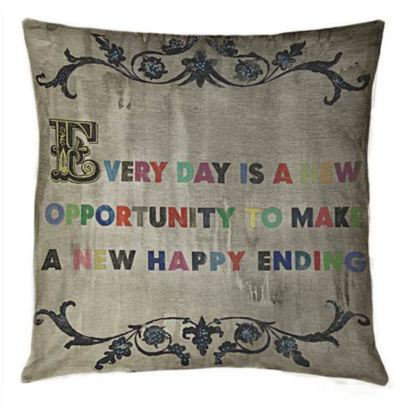 Every day is a new opportunity - Sugarboo and Co Pillow
