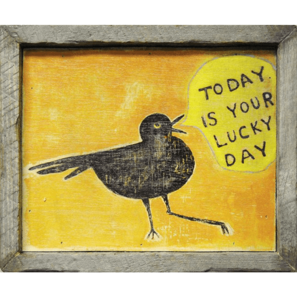Today is your Lucky Day - Sugarboo and Co Art Print