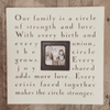Our Family is a Circle - Photobox - Sugarboo and Co