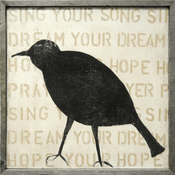 Bird Silhouette - Crow - Sugarboo and Co