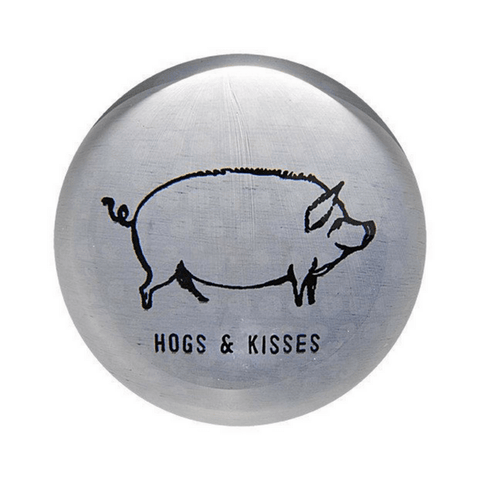 Hogs and Kisses Paperweight - Sugarboo and Co