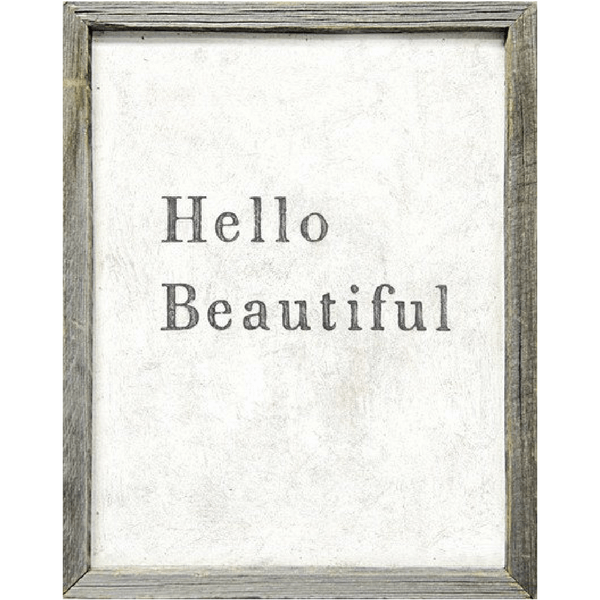 Hello Beautiful - Art Print - Sugarboo and Co