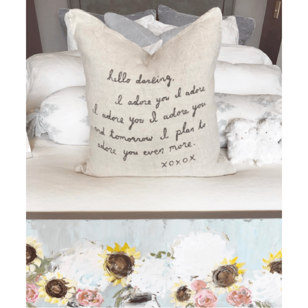 Letter #2 - Sugarboo and Co Pillow