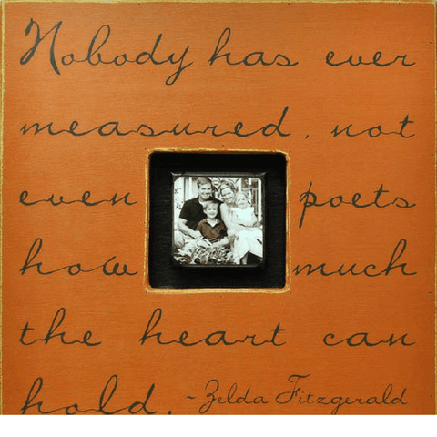 Nobody has ever measured - Sugarboo and Co Photobox - Terra Cotta