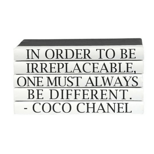 Book Stack - Coco Chanel - Sugarboo and Co