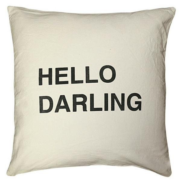 Hello Darling - Pillow - Sugarboo and Co