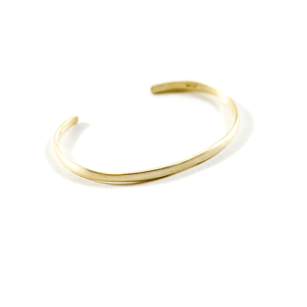 Plain Vermeil Cuff - Sugarboo and Co