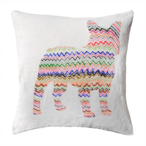 Zig Zag Frenchie - Sugarboo and Co Pillow