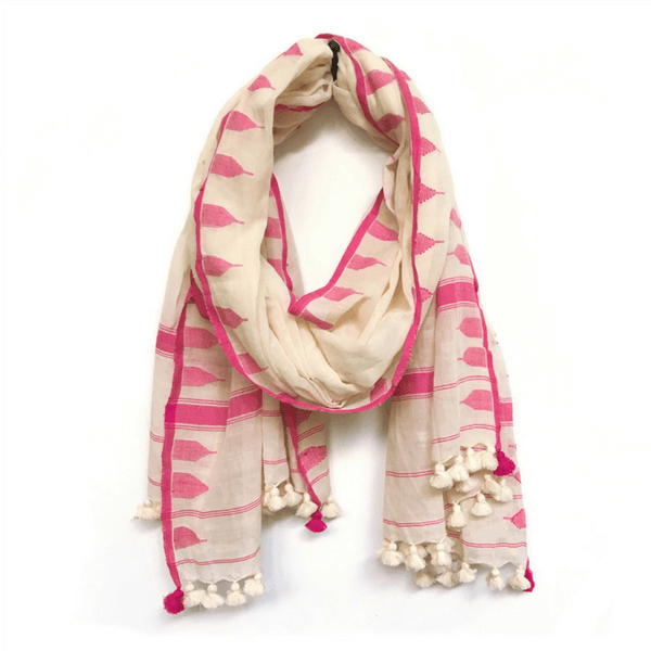 Mia Scarf with Tassels - Sugarboo and Co