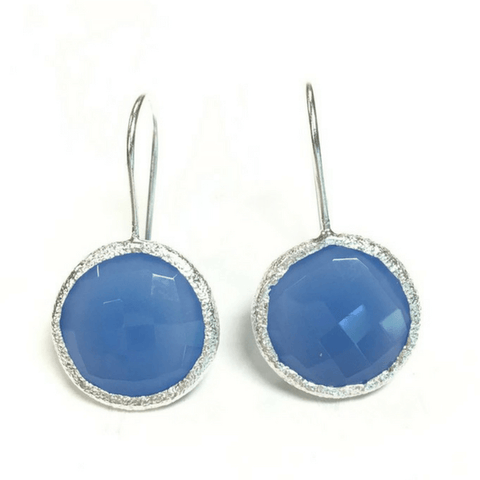 Blue Onyx Earrings - SB&Co