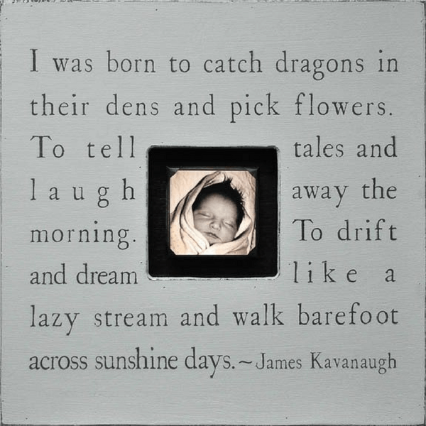 I was born to catch dragons - Photobox - Sugarboo and Co