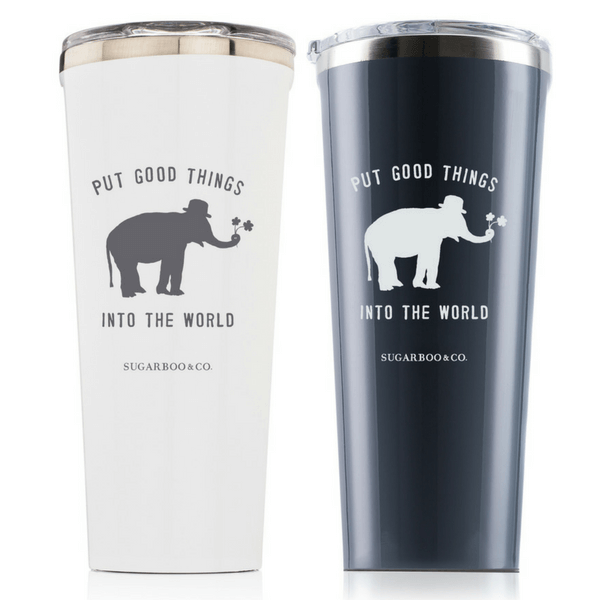 Put Good Things Into the World Tumbler - Sugarboo and Co