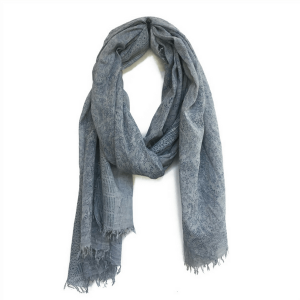 Stone Blue Scarf - Sugarboo and Co
