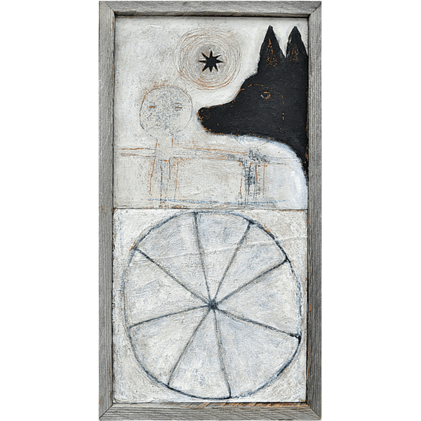 Dog With Wheel - Sugarboo and Co Art Print