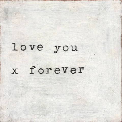 Love You x Forever - Sugarboo and Co Art Print