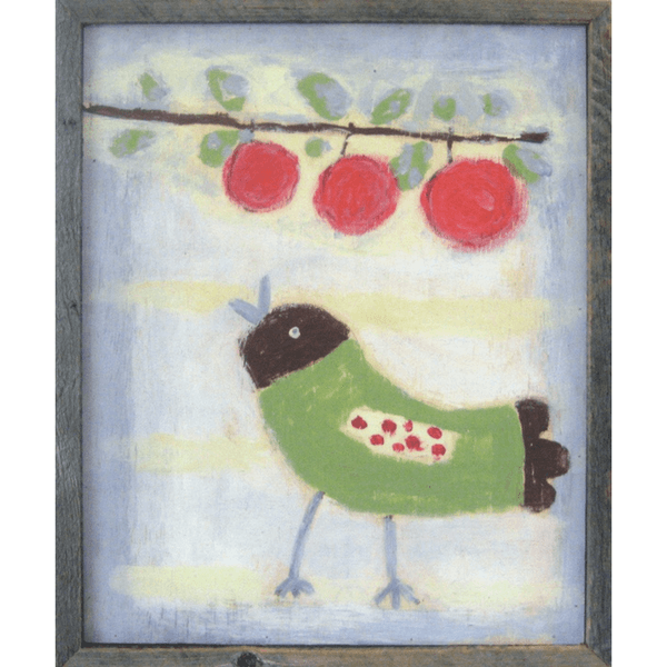 Bird with Cherries - Sugarboo and Co Art Print