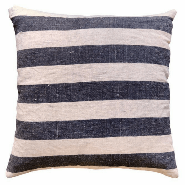 Black Stripes Pillow - Sugarboo and Co