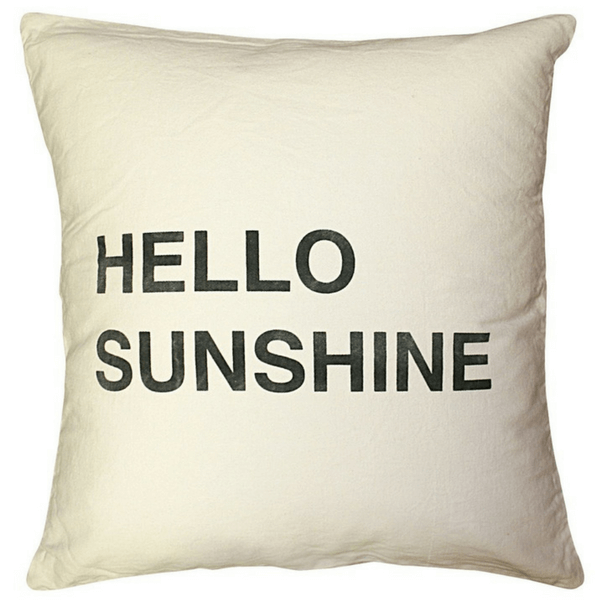 Hello Sunshine Pillow - Sugarboo and Co