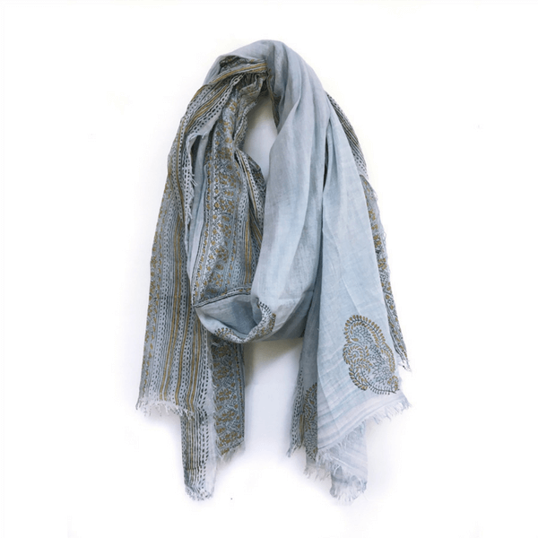 Sky Blue Scarf - Sugarboo and Co