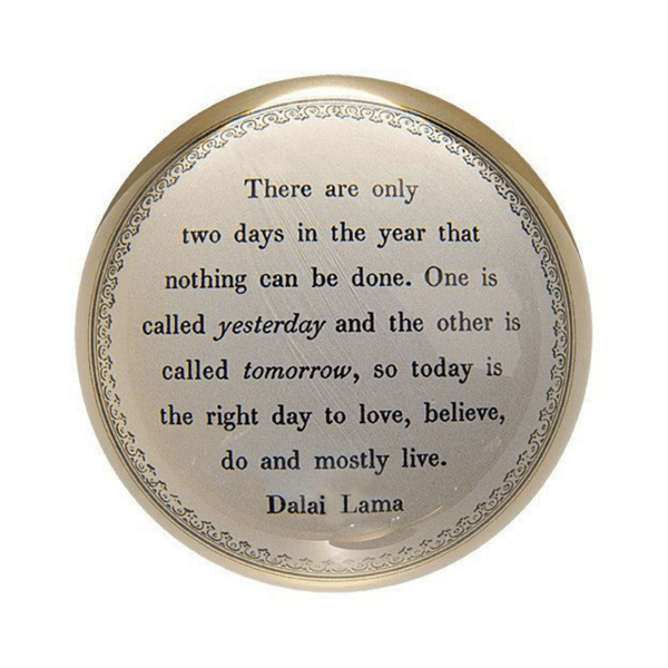 Today is the Right Day - Dalai Lama - Sugarboo and Co