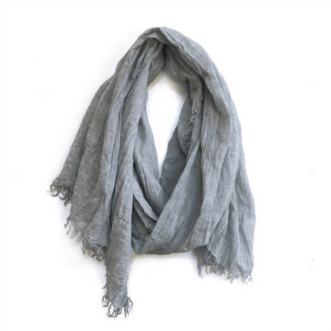 Light Grey Scarf - Sugarboo and Co