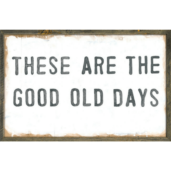 Good Old Days - Sugarboo and Co Art Print
