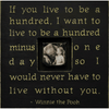 If You Live to Be - Sugarboo and Co - Photobox - Black