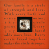 Our Family is a Circle - Photobox - Sugarboo and Co - Red
