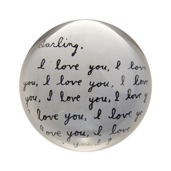 Darling I love You - Paperweight - Sugarboo and Co