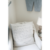 To My Sweet Darlings Pillow by Sugarboo & Co. - Boy's nautical nursery