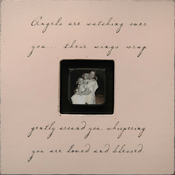 Angels are Watching Over You - Sugarboo and Co Photobox - Pink