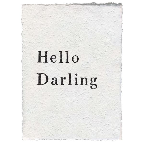 Sugarboo Paper Print - Hello Darling