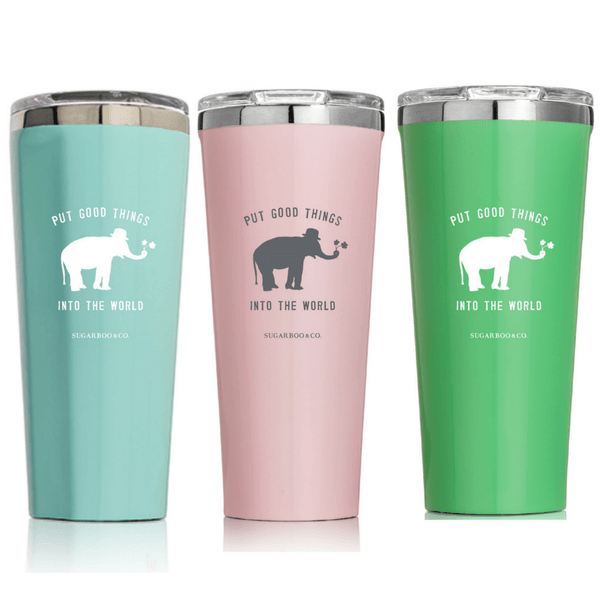 Put Good Things Into the World 24 oz. Tumbler (Three Colors)