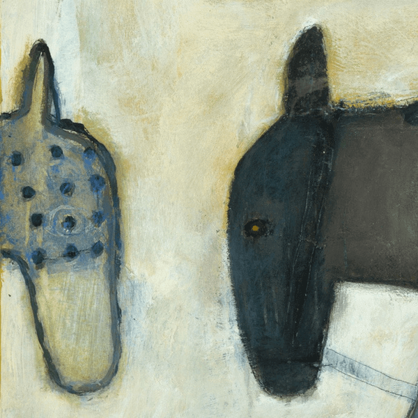 Two Horses - Art Print - Sugarboo and Co