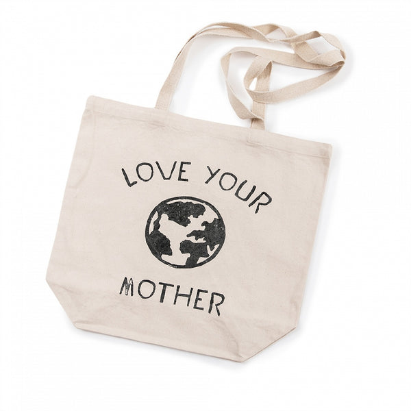 Love Your Mother Canvas Tote