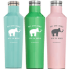 Put Good Things Into the World 16 oz. Canteen (Five Colors)