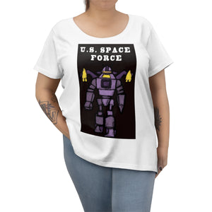 Women's Plus Size Space Force T-shirt