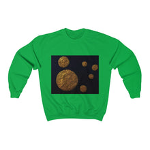 Load image into Gallery viewer, Non-concentric Circle Unisex Crewneck Sweatshirt