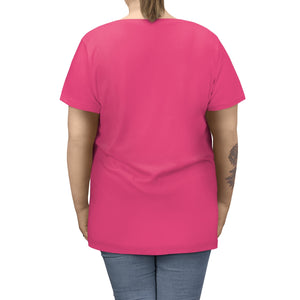 Women's Plus Size Funny Alien Tee